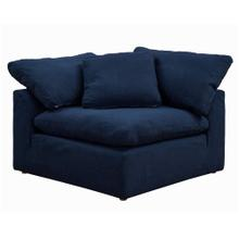 """Product Image - Cloud Puff Slipcovered Modular Armchair Corner Sofa Sectional """" Color 391049"""