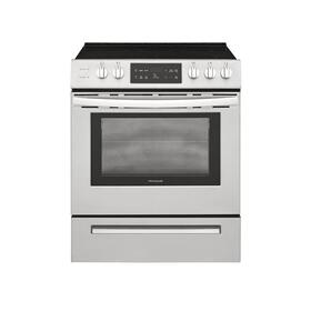 SCRATCH AND DENT Frigidaire 30'' Front Control Freestanding Electric Range