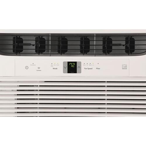 8,000 BTU Connected Window-Mounted Room Air Conditioner