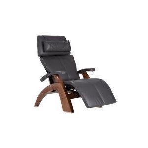 Perfect Chair ® PC-600 Omni-Motion Silhouette - Gray Premium Leather - Walnut
