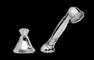 Topaz Deck-Mounted Handshower & Diverter Set Product Image