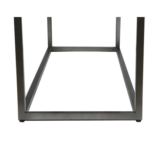Onyx Sofa Table, Aged Concrete