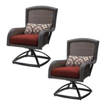 Strathmere Swivel Rocker Dining Chair Set of 2, 2356-DSR