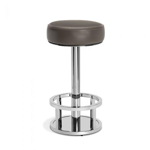 Drake Bar Stool - Grey (Swivel)