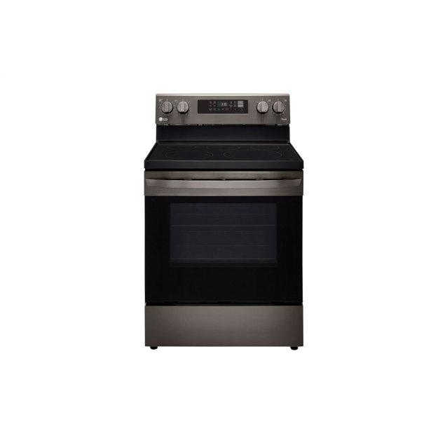 LG Appliances 6.3 cu ft. Smart Wi-Fi Enabled Fan Convection Electric Range with Air Fry & EasyClean®