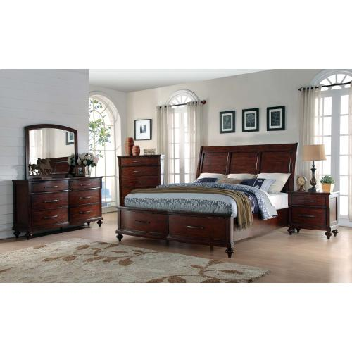 5 PC Bedroom - 3 PC Queen Bed, Dresser, Mirror