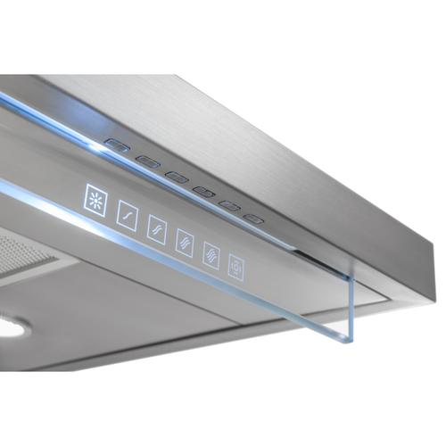 Gallery - 36-in. External Blower Stainless Steel Chimney Range Hood with glass (WC45 Series)