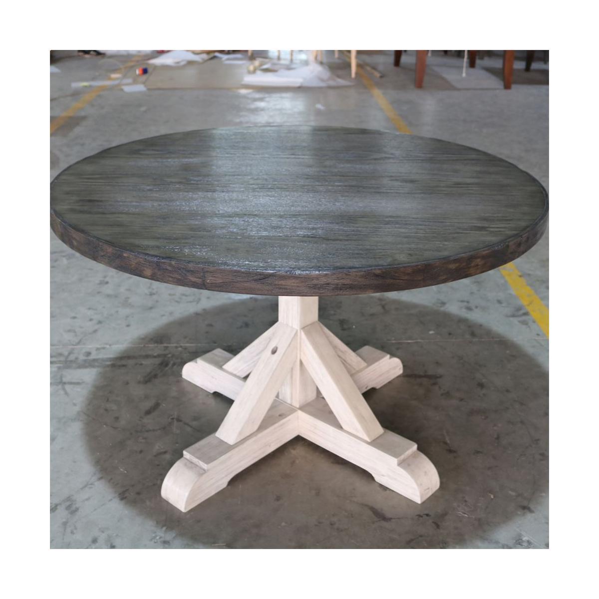 Round Single Pedestal Table Base