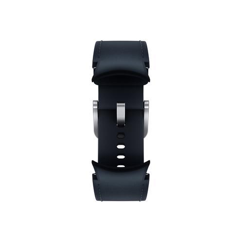 Samsung - Galaxy Watch4, Galaxy Watch4 Classic Hybrid Leather Band, S/M, Navy