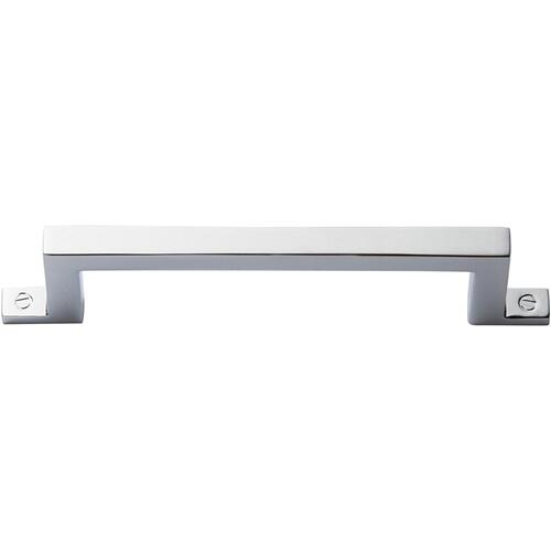Campaign Bar Pull 3 3/4 Inch - Polished Chrome