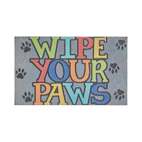 Mohawk - Wipe Your Paws, Gray- Rectangle