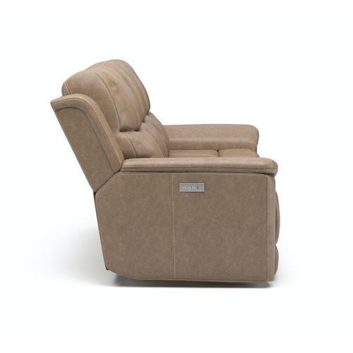 Flexsteel - Cade Power Reclining Sofa with Power Headrests and Lumbar