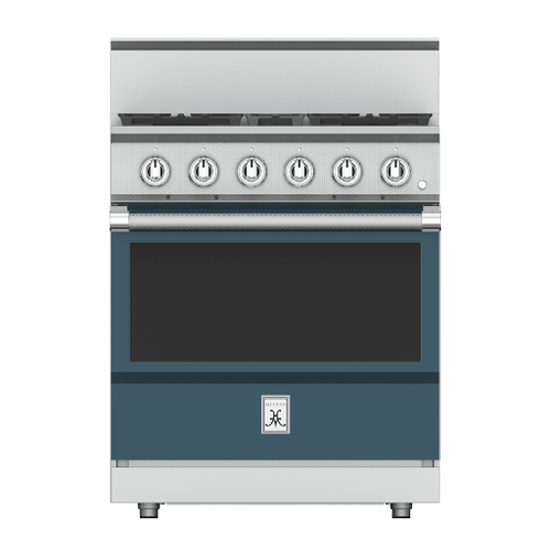 "30"" 4-Burner All Gas Range - KRG Series - Pacific-fog"