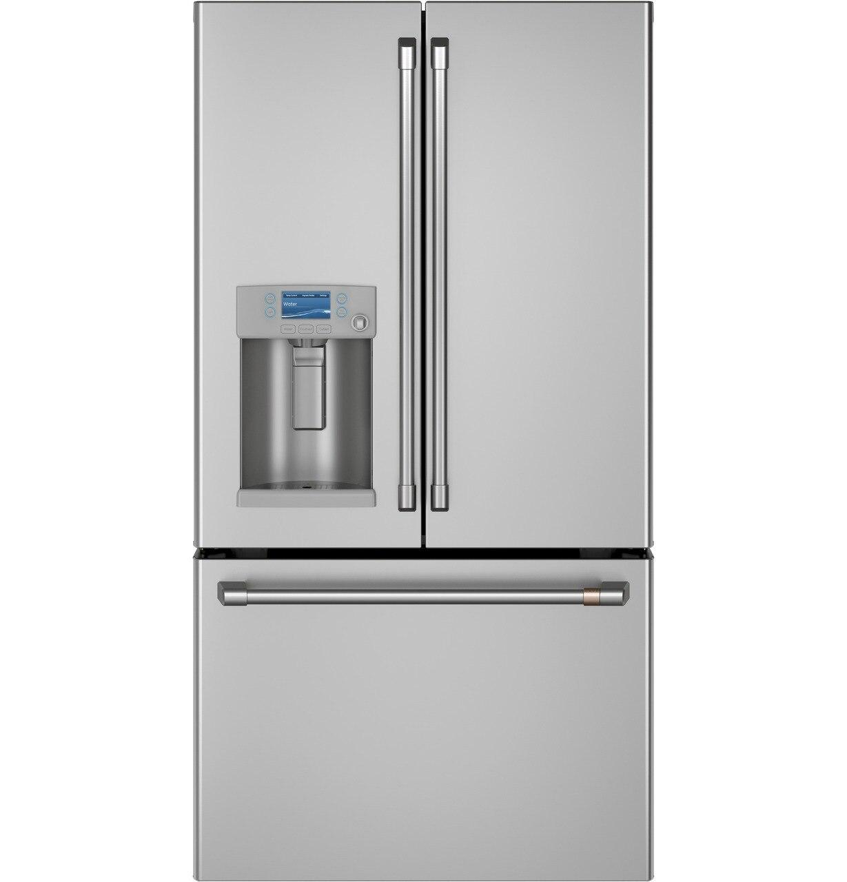 CafeEnergy Star® 22.1 Cu. Ft. Smart Counter-Depth French-Door Refrigerator With Hot Water Dispenser