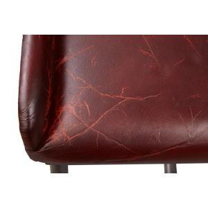 Brandon Industrial Leather Barstool