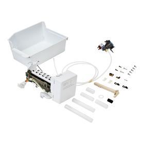 Top Freezer Refrigerator Ice Maker Assembly - White