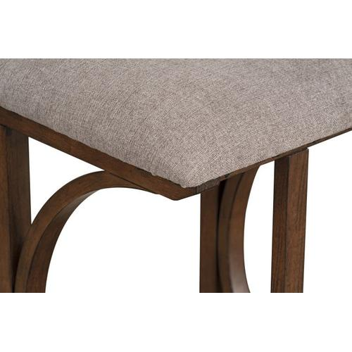 Standard Furniture - Brentwood Folding Bar Table and Two Stools Set, Brown