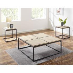 Oaklee 3-Piece Set (Cocktail & 2 End Tables)