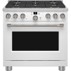 """Café 36"""" Smart All-Gas Commercial-Style Range with 6 Burners (Natural Gas) - Coming Soon"""