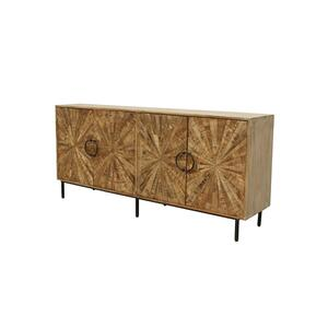 CRESTVIEW COLLECTIONSRoswell 4 Door Sideboard