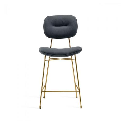 Abner Counter Stool - Sky Grey