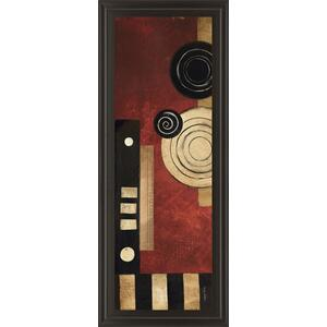 """Radius Panel Il"" By Kimberly Poloson Framed Print Wall Art"