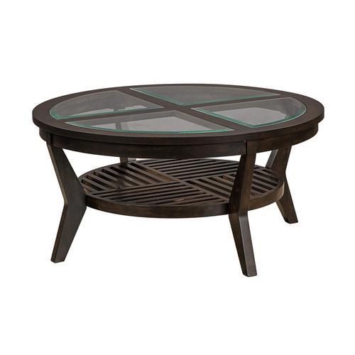 Lane Home Furnishings - 70051 Ashford Round Cocktail Table