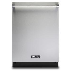 "Viking24"" Dishwasher w/Installed Professional Stainless Steel Panel - VDWU524SS"