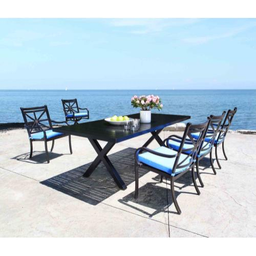 """Milano 54"""" Round Dining Table"""