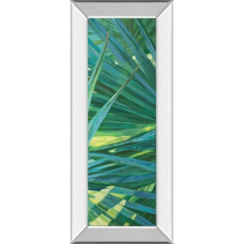 """""""Fan Palm II"""" By Suzanne Wilkins Mirror Framed Print Wall Art"""