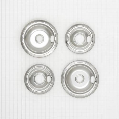 KitchenAid - Round Electric Range Burner Drip Bowls - Other