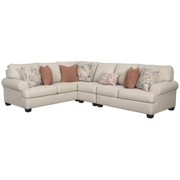 See Details - Amici 3-piece Sectional