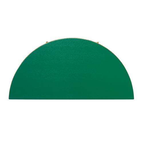 Orion Demilune Chest - Emerald