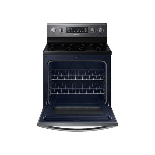 5.9 cu.ft. Freestanding Electric Range in Black Stainless Steel