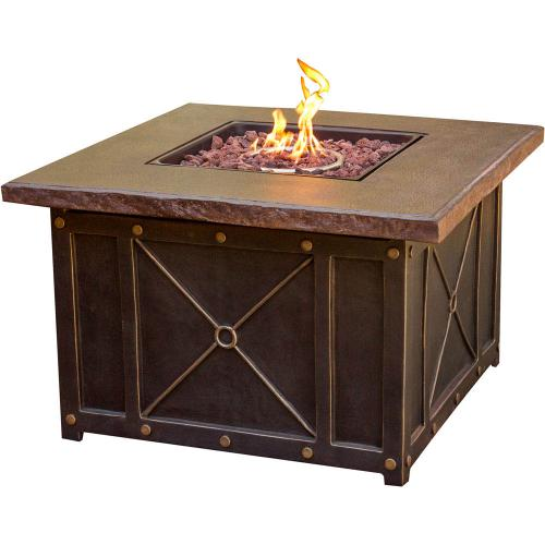 Hanover Summer Nights 5-Piece Fire Pit Lounge Set, SUMMRNGHT5PC