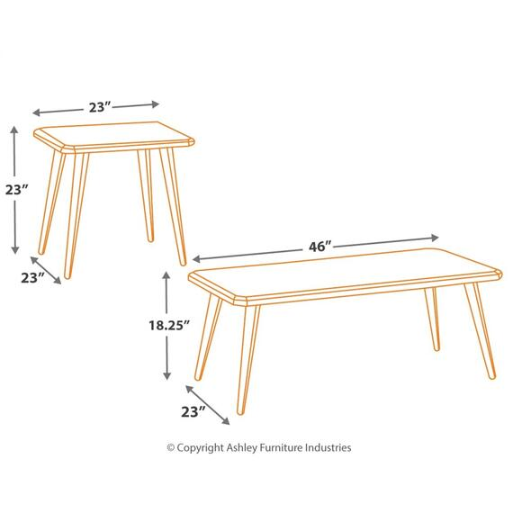 Signature Design By Ashley - Fazani Table (set of 3)