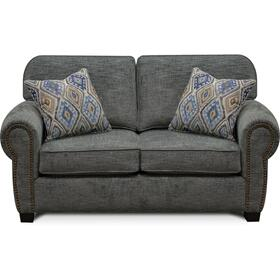 8A06N Neil Loveseat with Nails