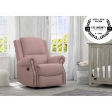 Dylan Nursery Recliner Glider Swivel Chair - Blush (636)