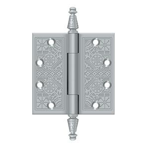 "4-1/2"" x 4-1/2"" Square Hinges - Brushed Chrome"