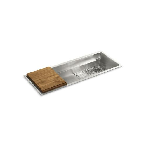 "45"" Stainless Steel Kitchen Sink with Standard Accessories"