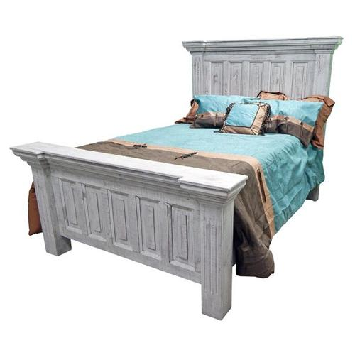 Coliseo Queen Bed-old White