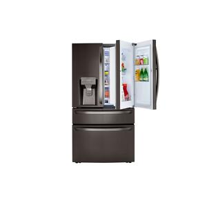 23 cu. ft. Smart Wi-Fi Enabled Counter-Depth Refrigerator with Craft Ice™ Maker Product Image