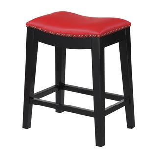 "Briar 24"" Bar Stool Red"