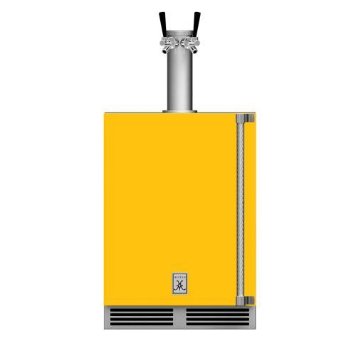 """24"""" Hestan Outdoor Double Faucet Beer Dispenser - GFDS Series - Sol"""