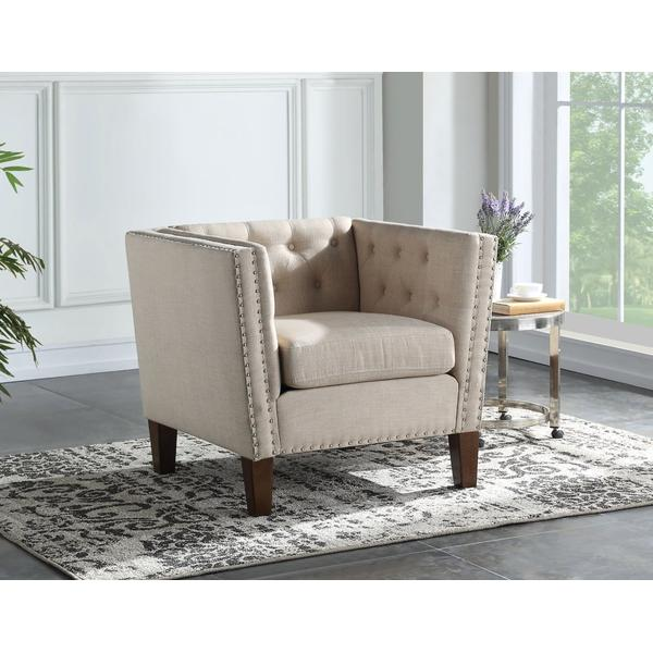 Campbell Accent Chair - Sand