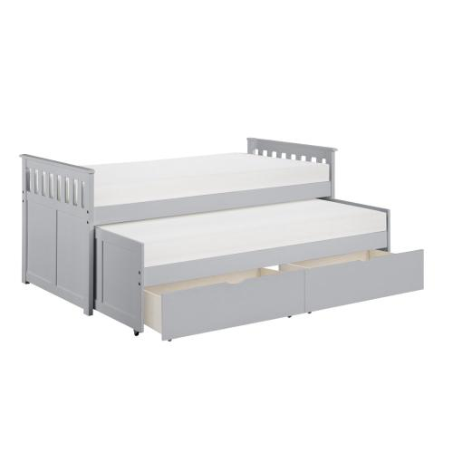 Twin/Twin Bed with Storage Boxes