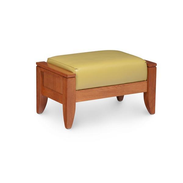 Justine Ottoman, Fabric Cushion Seat