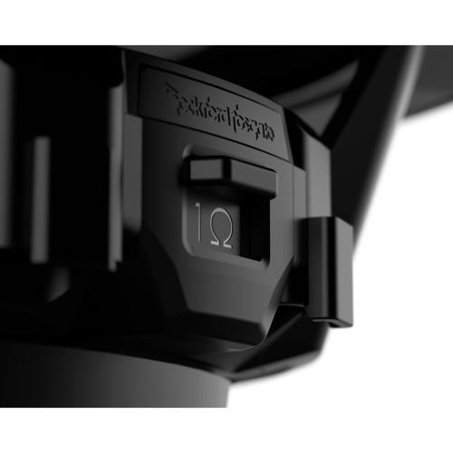 """Rockford Fosgate - M1 12"""" DVC 2 Color Optix™ Marine Subwoofer - Black"""
