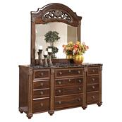 Gabriela Dresser and Mirror