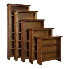 "Bookcase 48""H 3 adj shelves"